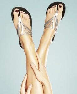 Les sandales Batucada à fleur de peau