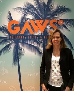 Emmanuelle, fondatrice de la boutique GAWS