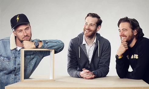 Les 3 co-fondateurs d'Akrone