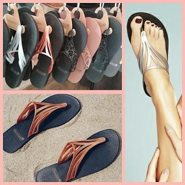 Les sandales Batucada au Patio des Capucines