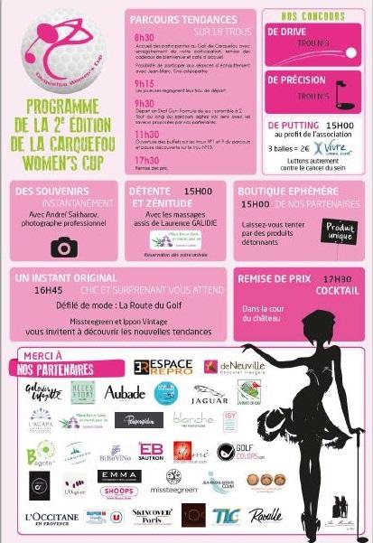 Carquefou Women's Cup - programme