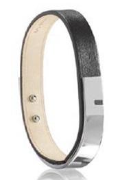URSUL - bracelet cuir et métal