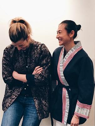 Cécile et Sovandy, créatrices de Sok Sabaï