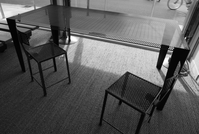 création table & chaise fabrice pezon