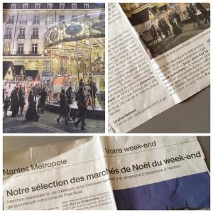 Article Ouest France décembre 2017