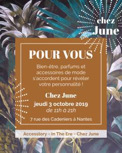 Pour Vous - l'événement Accesstory x In The Ere x Chez June