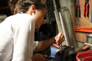 Alexandra, la créatrice de la marque Mayrena