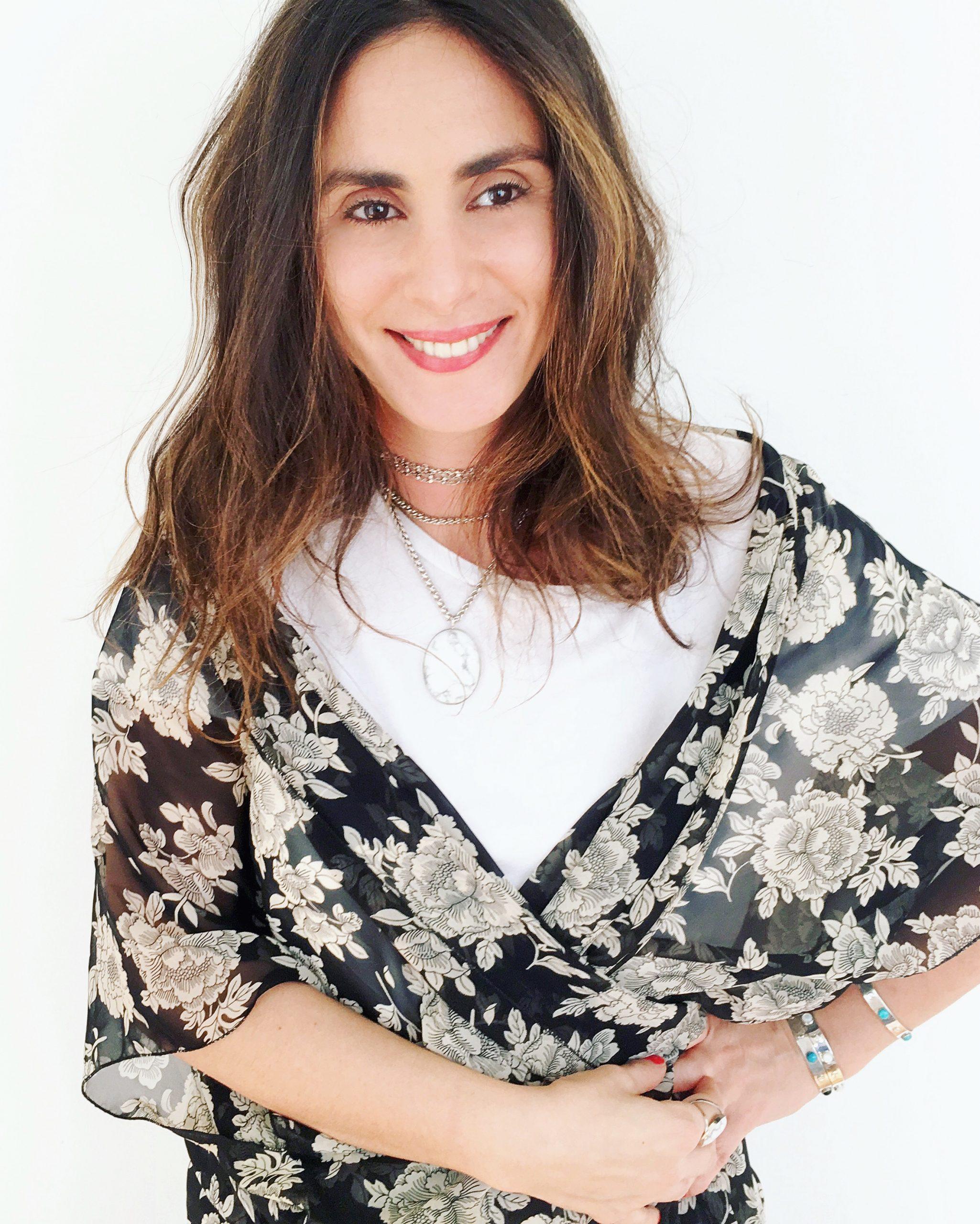 La créatrice Leslie de la marque Helles Paris