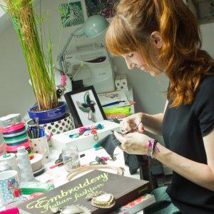 Elodie, la créatrice de la marque l honorable